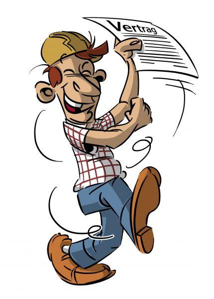 Arbeitsvertrag gewerblicher Mitarbeiter