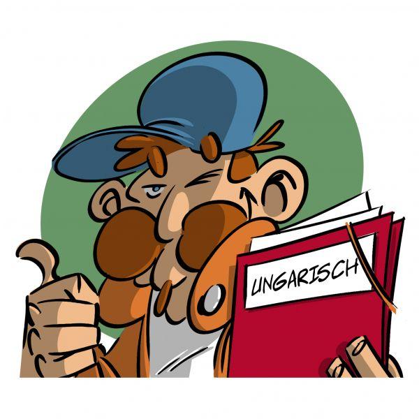 Unterweisung Unfallschaden (Ungarische Version)