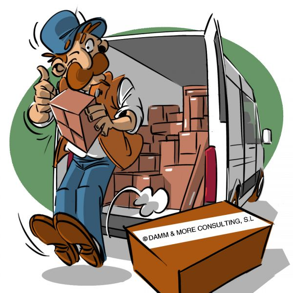 Stellenbeschreibung Paketbote Mitarbeiter